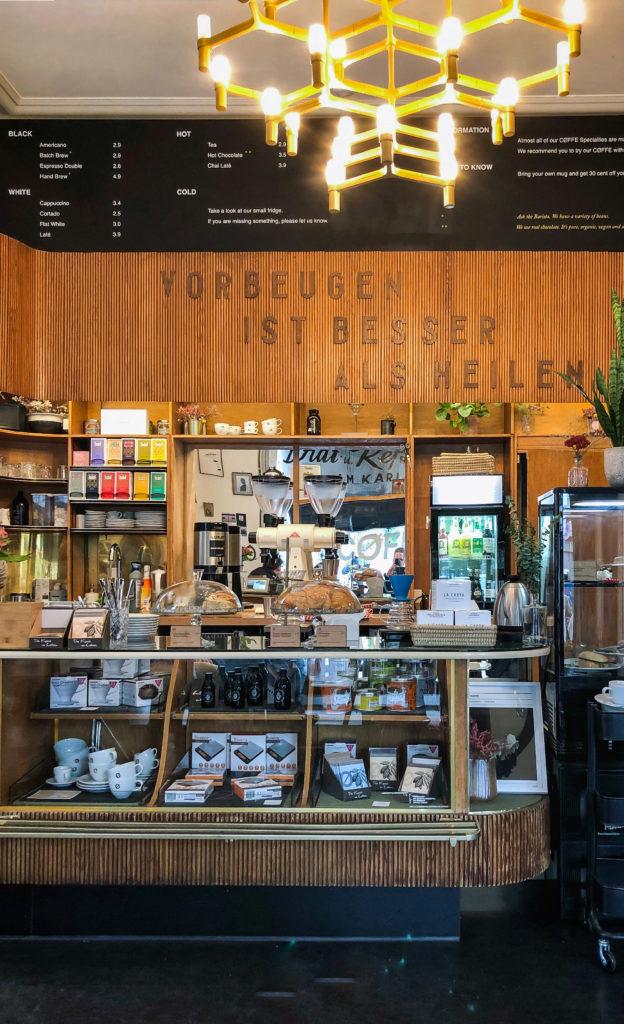 Coffee am Carlsplatz in Düsseldorf / Düsseldorf: Nachhaltige Läden und Cafés