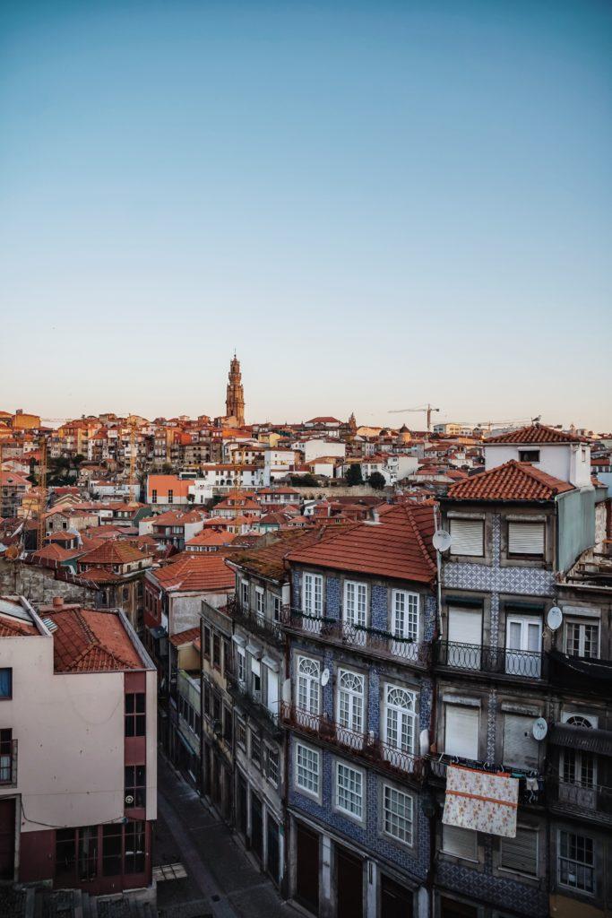 Blick von Se Catedral in Porto, 5 Instagram Hotspots in Porto