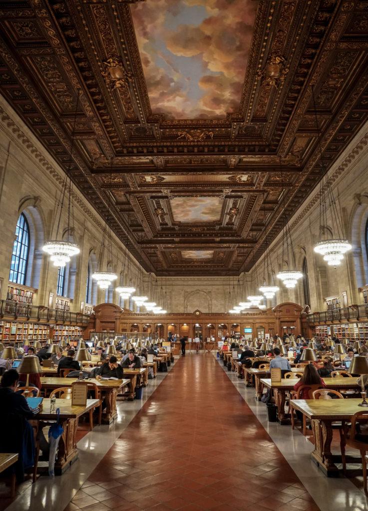 Die schönsten Fotomotive für deine New York Reise, New York Public Library