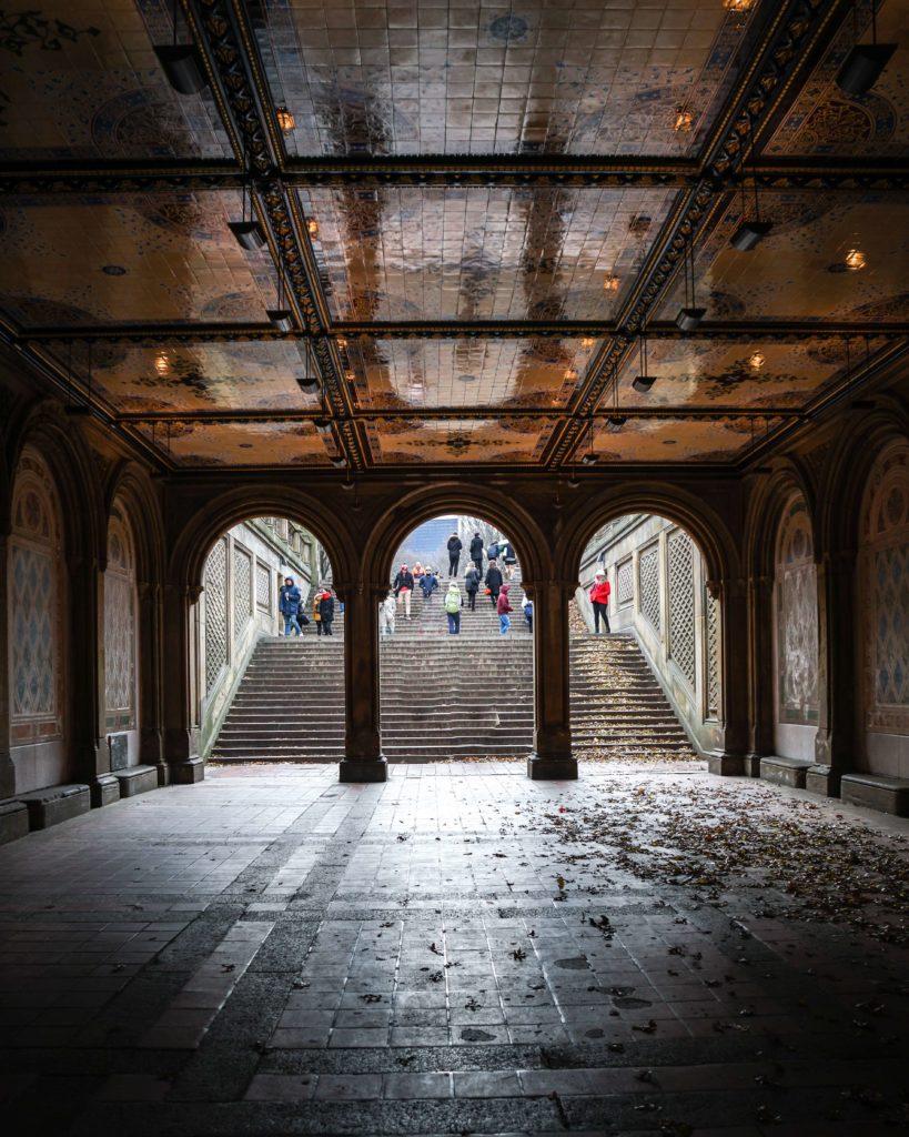 Die schönsten Fotomotive für deine New York Reise, Bethesda Terrace